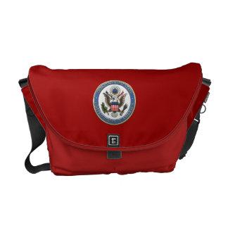 [600] LOS E.E.U.U. Emblema (DoS) del Departamento Bolsa De Mensajería
