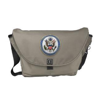 [600] LOS E.E.U.U. Emblema (DoS) del Departamento Bolsas De Mensajeria