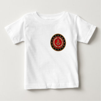 [600] Masonic Square and Compasses [3rd Degree] Baby T-Shirt