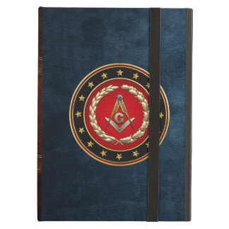 [600] Masonic Square and Compasses [3rd Degree] Case For iPad Air
