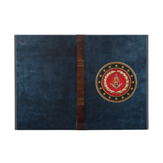 [600] Masonic Square and Compasses [3rd Degree] Cover For iPad Mini