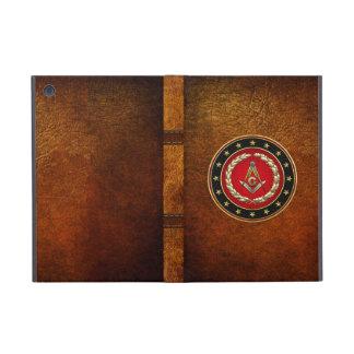 [600] Masonic Square and Compasses [3rd Degree] iPad Mini Cases