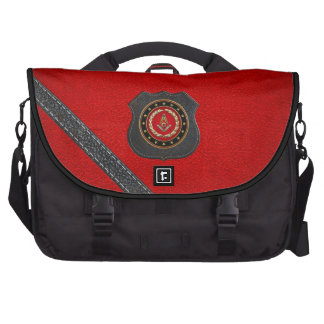 [600] Masonic Square and Compasses [3rd Degree] Laptop Computer Bag