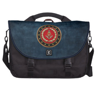 [600] Masonic Square and Compasses [3rd Degree] Commuter Bag
