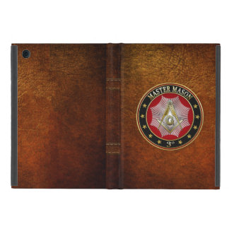 [600] Master Mason - 3rd Degree Square & Compasses iPad Mini Covers