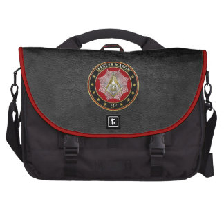 [600] Master Mason - 3rd Degree Square & Compasses Commuter Bags