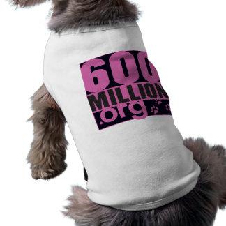 600 million doggy girly T Dog Clothes