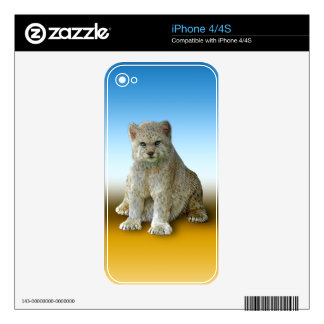 600 Pound Cat - Multiple Products iPhone 4 Decal