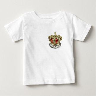[600] Prince [King] Royal Crown [Fur+Gold][Red] Baby T-Shirt