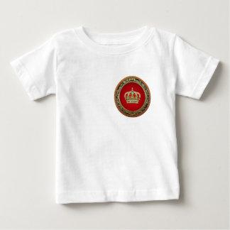 [600] Prince-Princess King-Queen Crown [Belg.Gold] Baby T-Shirt