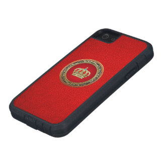[600] Prince-Princess King-Queen Crown [Belg.Gold] iPhone 5 Case