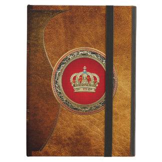 [600] Prince-Princess King-Queen Crown [Belg.Gold] iPad Air Case