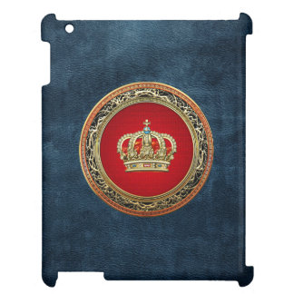 [600] Prince-Princess King-Queen Crown [Belg.Gold] iPad Cases