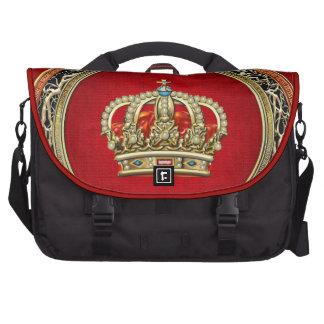 [600] Prince-Princess King-Queen Crown [Belg.Gold] Laptop Bag
