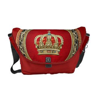 [600] Prince-Princess King-Queen Crown [Belg.Gold] Messenger Bag