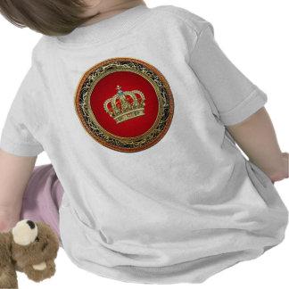 [600] Prince-Princess King-Queen Crown [Belg.Gold] Tshirts