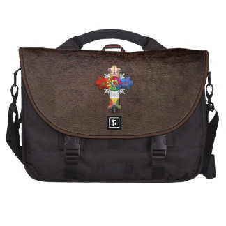 [600] Rosy Cross (Rose Croix) Laptop Bags