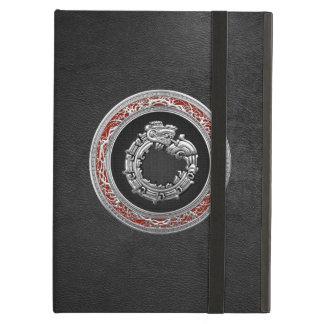 [600] Serpent God Quetzalcoatl [Silver] iPad Air Case