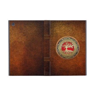 [600] Tesoro: Árbol de la vida céltico [oro] iPad Mini Coberturas