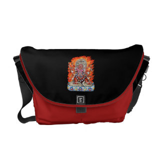 [600] Tibetan Thangka  - Wrathful Deity Hayagriva Messenger Bag