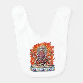 [600] Tibetano Thangka - deidad colérica Hayagriva Babero Para Bebé