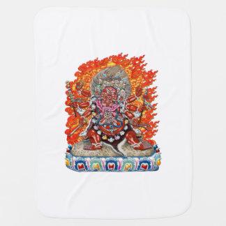 [600] Tibetano Thangka - deidad colérica Hayagriva Manta De Bebé