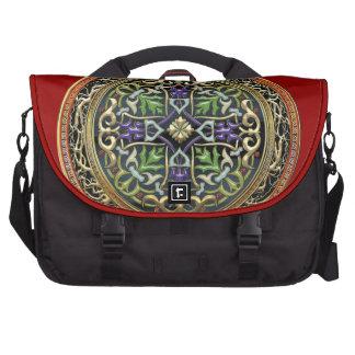 [600] Treasure Trove: Celtic Cross Laptop Bags