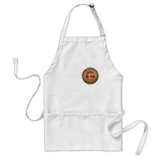 [600] Treasure Trove: Celtic Tree of Life [Gold] Apron