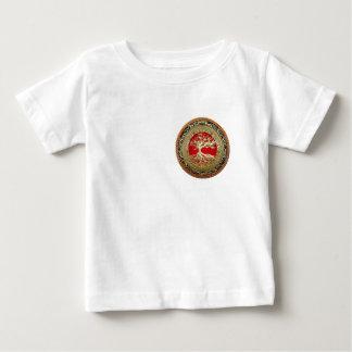 [600] Treasure Trove: Celtic Tree of Life [Gold] Baby T-Shirt