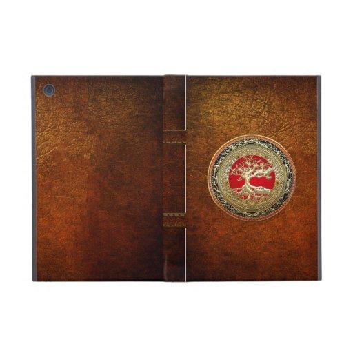 [600] Treasure Trove: Celtic Tree of Life [Gold] iPad Mini Case