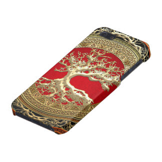 600 Treasure Trove Celtic Tree of Life Gold iPhone 5 Case