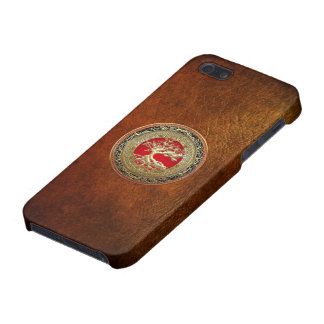 600 Treasure Trove Celtic Tree of Life Gold iPhone 5 Covers