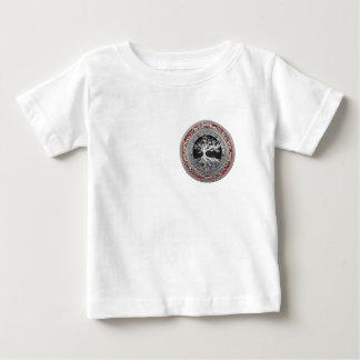 [600] Treasure Trove: Celtic Tree of Life [Silver] Baby T-Shirt