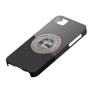 600 Treasure Trove Celtic Tree of Life Silver iPhone 5 Covers