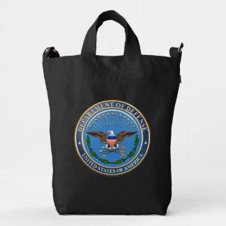 [600] U.S. Department of Defense (DOD) Emblem [3D] Duck Bag