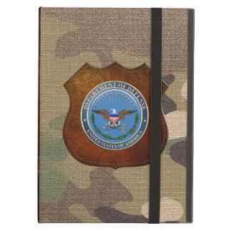[600] U.S. Department of Defense (DOD) Emblem [3D] iPad Air Cases