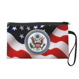 [600] U.S. Department of State (DoS) Emblem [3D] Wristlet
