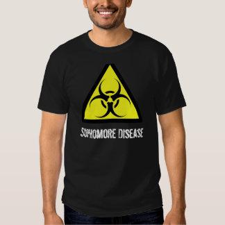 600px-Biohazard_svg, Sophomore Disease Shirt