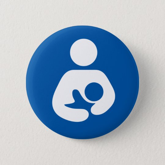 600px-Breastfeeding-icon-med.svg Pinback Button
