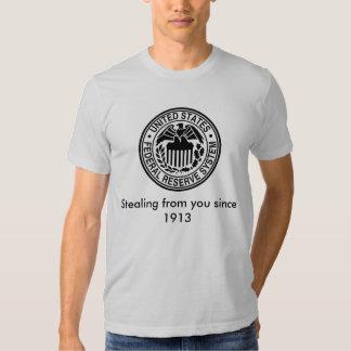 600px-US-FederalReserveSystem-Seal_svg, Stealin... T-shirt
