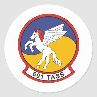 601 TASS tactical air support squadron Classic Round Sticker