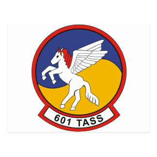 601 TASS tactical air support squadron Postcard