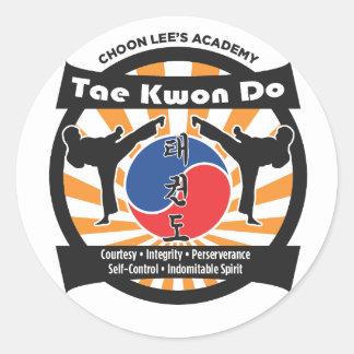 602 Choon Lee's Academy Stickers