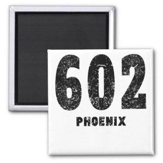 602 Phoenix apenada Imán Cuadrado