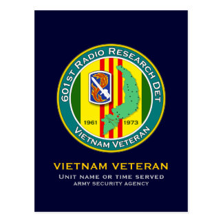 602st RRD 1 - ASA Vietnam Postcard