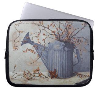 6033 Bittersweet in Watering Can Laptop Bag