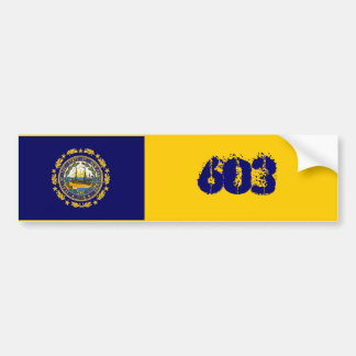 603 Represent Car Bumper Sticker