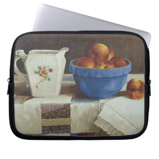 6044 Bowl of Peaches & Pitcher on Quild Laptop Bag