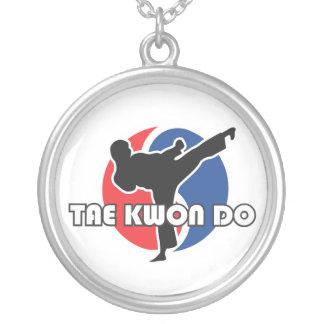 606-5 collar de plata del Taekwondo