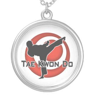 606-6 collar de plata del Taekwondo